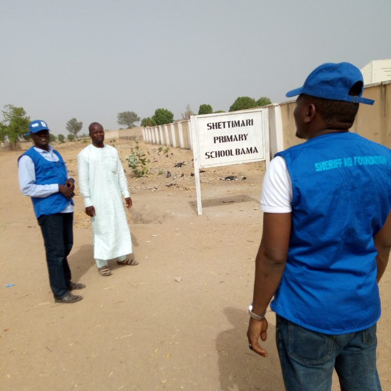 baseline survey at Bama LGA for Almajiris